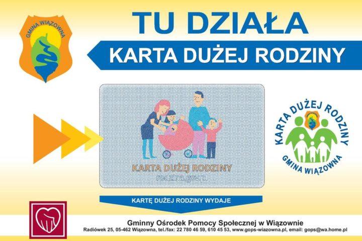 etykieta, A4, Karta Dużej Rodziny