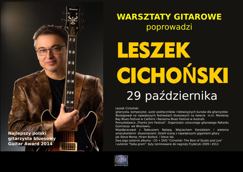 plakat_warsztaty_gitarowe_leszek_cichonski