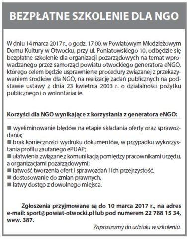 zaproszenie NGO