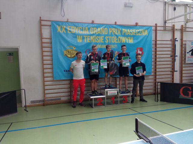 3 medale dla tenisistów z Wiązowny w Piasecznie!