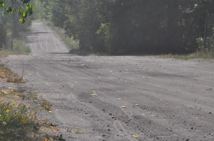 droga gminna, Poręby