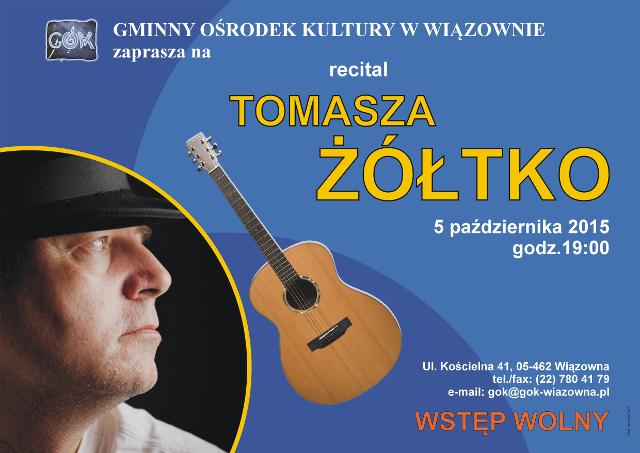 plakat Tomasz Zoltko 2015m
