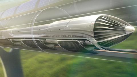 Projekt Hyperloopa autorstwa zespołu Hyper Poland. Foto Hyper Poland