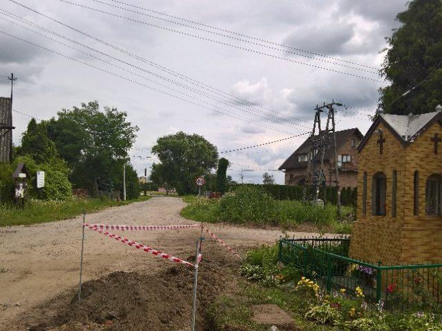 Droga Boryszew - Góraszka