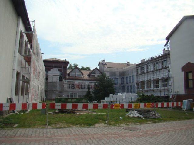 Remont szkoły w Wiązownie