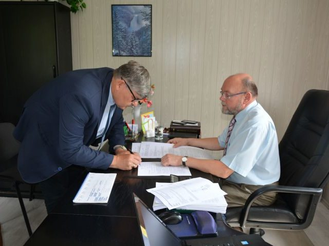 Podpisanie aktu notarialnego dnia 26.06.2017 r.