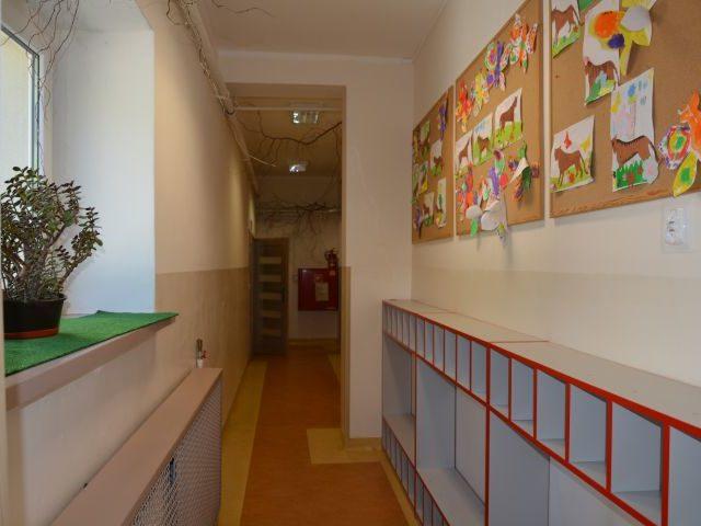 Remont szatni w przedszkolu w Wiązownie