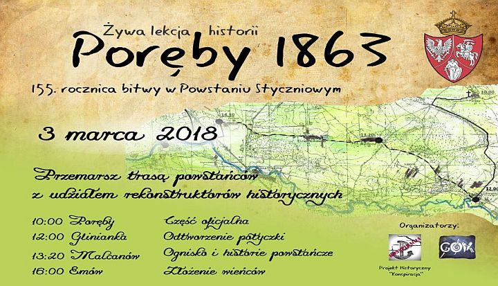 155 rocznica Bitwy pod Porębami