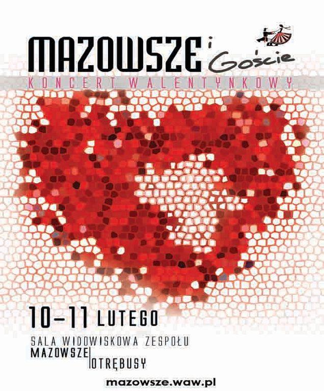 Koncert Walentynkowy Mazowsze