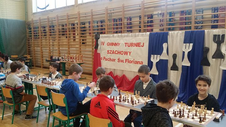 IV Gminny Turniej Szachowy o Puchar Św. Floriana