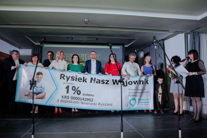 Koncert charytatywny dla Rysia