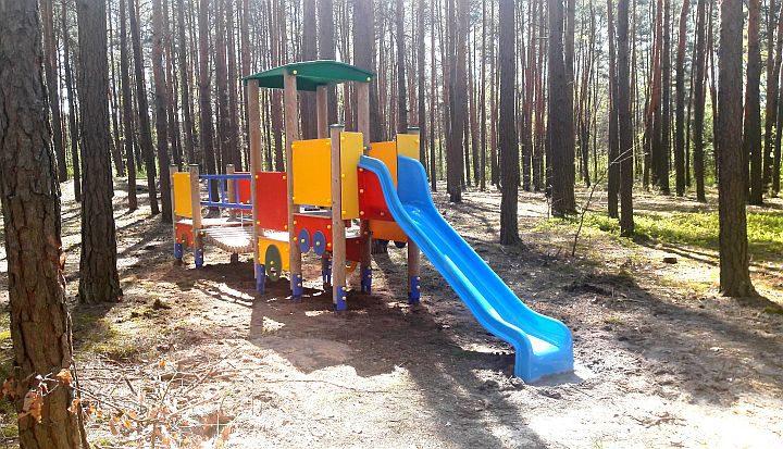 Zabawka w Parku im. Georga Bidwella