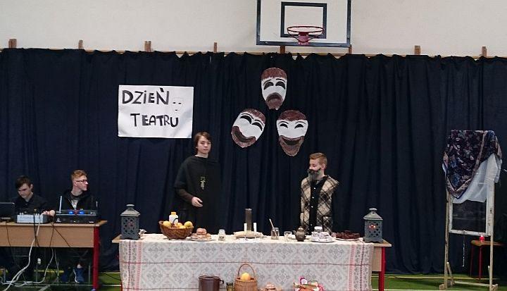 Dziady w wiązowskiej szkole