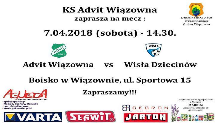 plakat mecz wiosna 2018