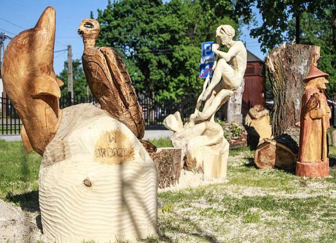 Plener rzeźbiarski w Gliniance
