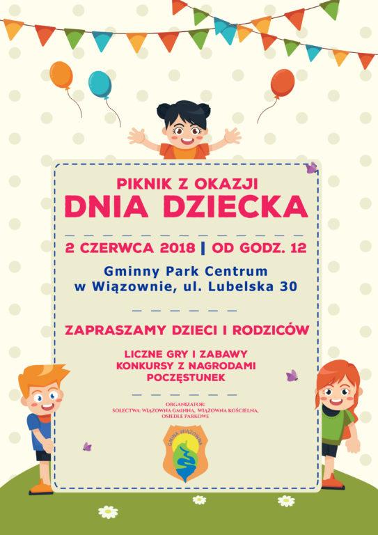 Plakat z Okazji Dnia Dziecka