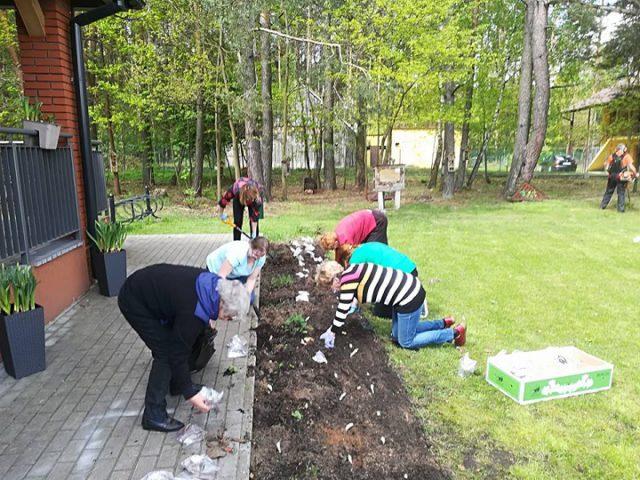 Zajęcia ogrodnicze