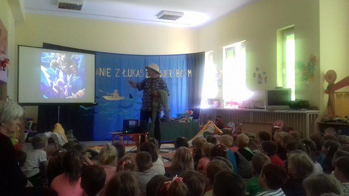Spotkanie z Łukaszem Wierzbickim