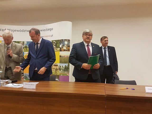 Podpisanie umowy - dofinansowanie z województwa mazowieckiego
