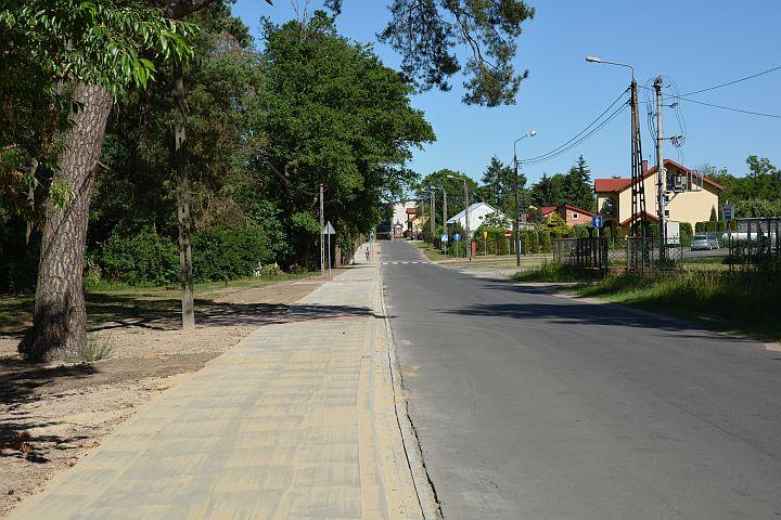 Budowa chodnika w Woli Karczewskiej