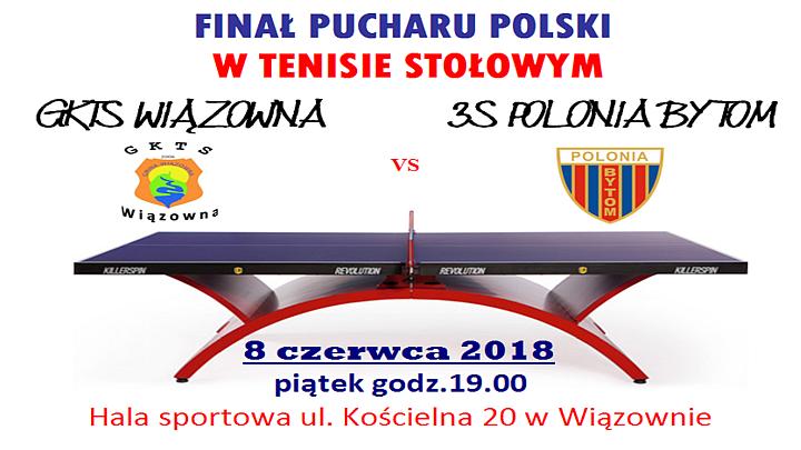 Finał Pucharu Polski w Tenisie Stołowym