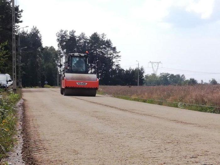 Budowa ul. Kąckiej