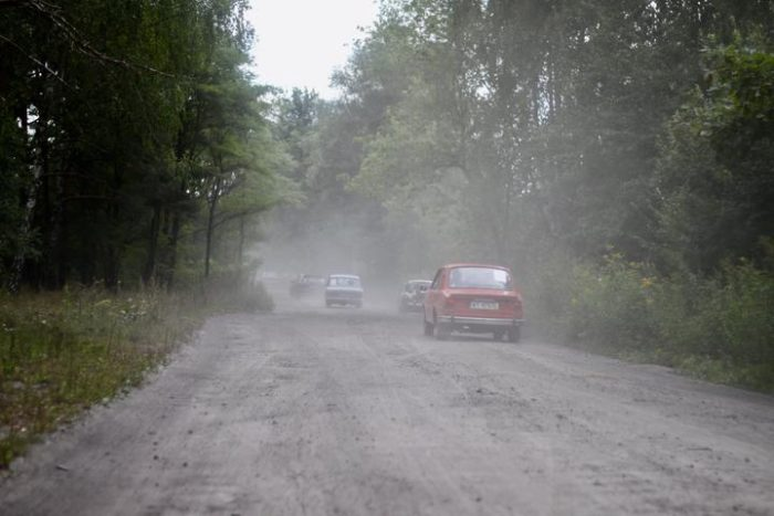 Rajd zabytkowych samochodów