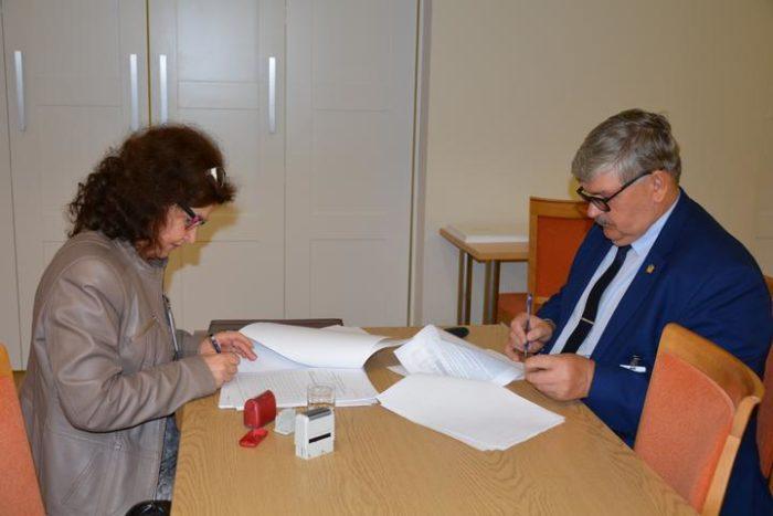 Umowa na dofinansowanie dla straży