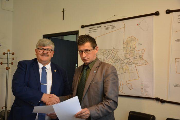 Podpisanie porozumienia z miastem Sulejówek ws. L48