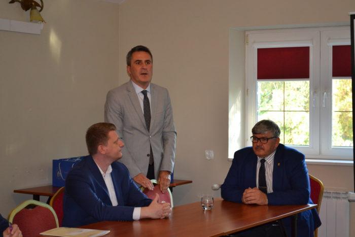 Wizyta zarządu gmin wiejskich