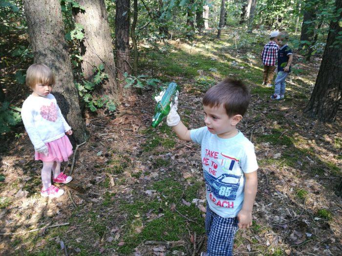 Sprzątanie Świata w Stumilowym Lesie
