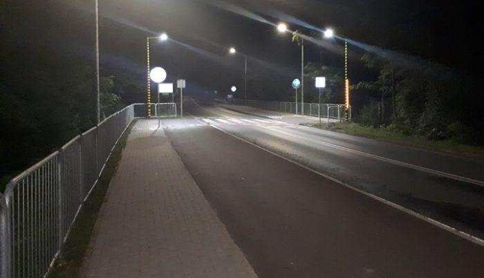 oświetlenie przejścia ul wiązowska