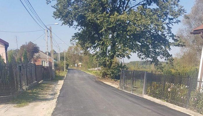Nakładka asfaltowa w Kruszówcu