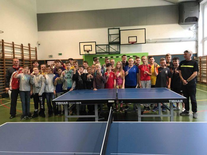 tenis stolowy, szkola podstawowa w wiazownie