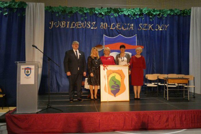 jubileusz szkoły podstawowej w Gliniance