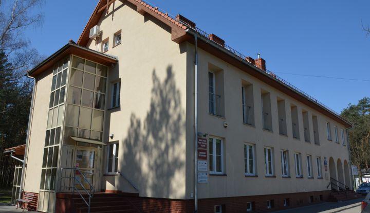 Budynek Gminnego Ośrodka Pomocy Społecznej w Radiówku
