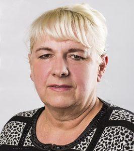 Maria Waloch przewodząca zarządu osiedla Rudka