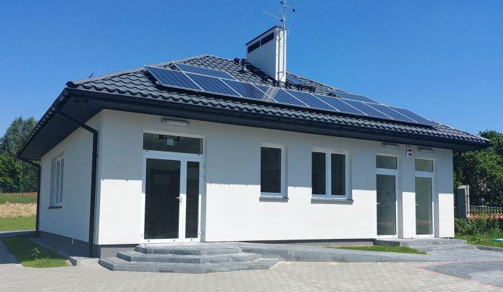 Budynek nowej świetlicy w Kopkach