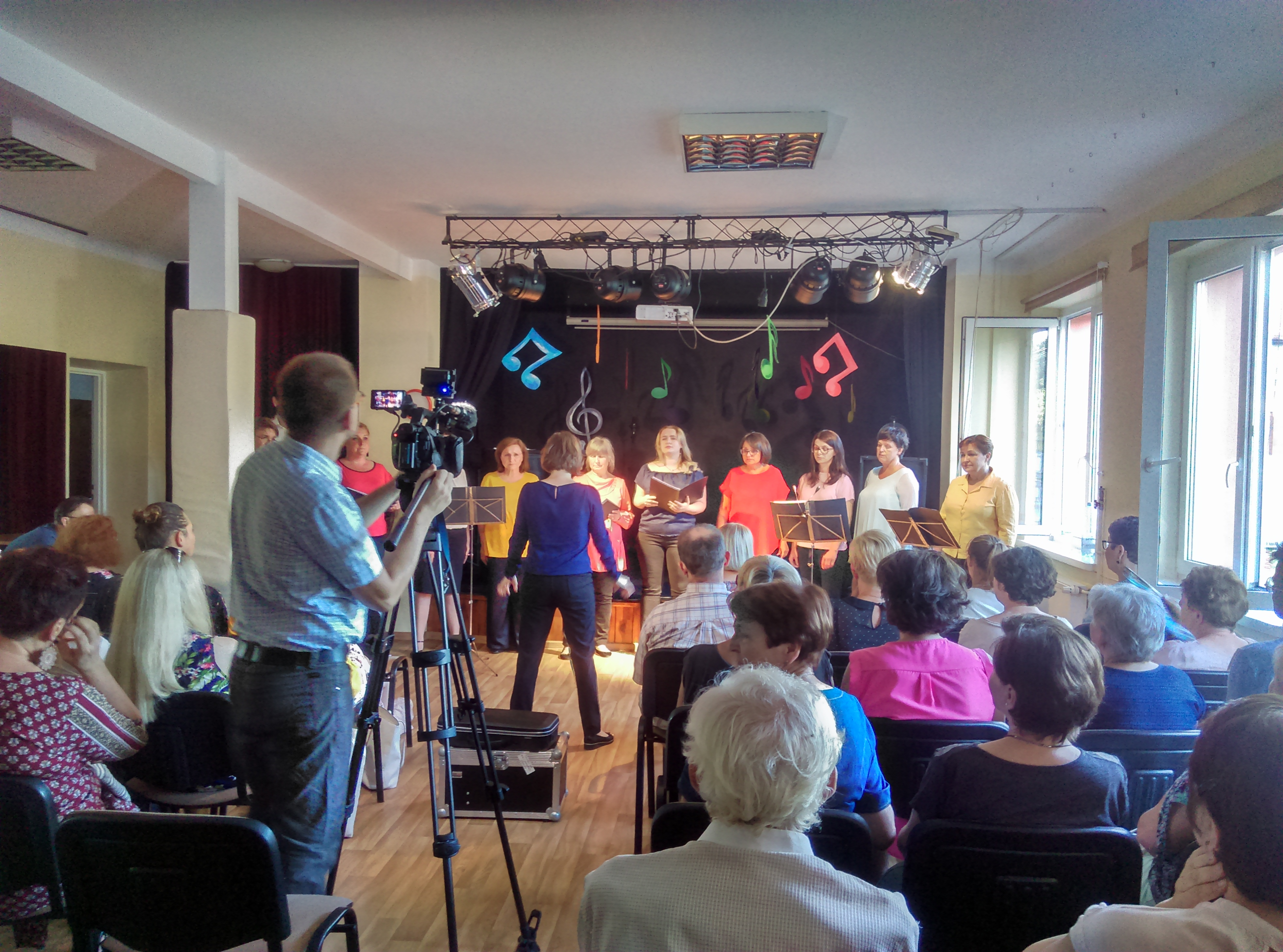 Koncert Chór Mienia River