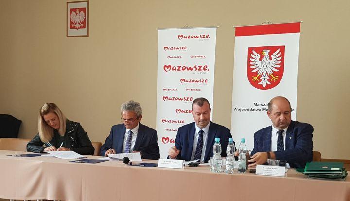 podpisanie umowy MIAS Mazowsze 2019