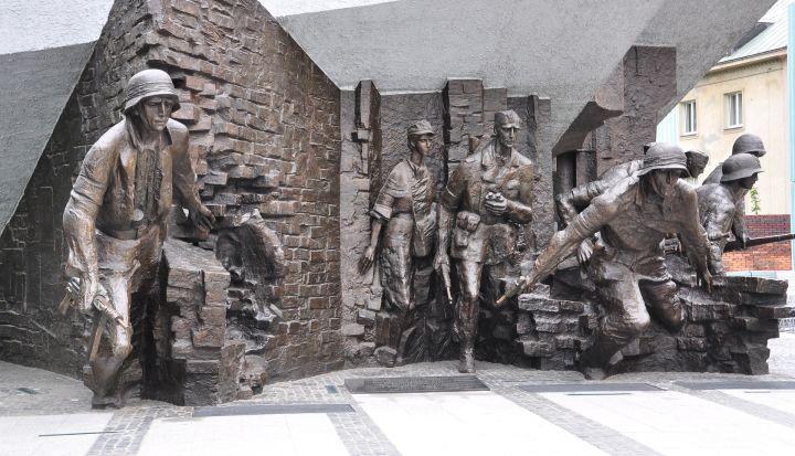 Pomnik Pwstańców Warszawy na Starówce