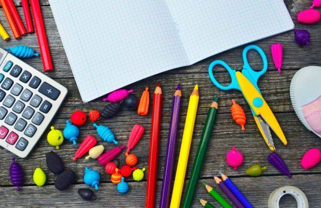 Materiały szkolne dla dzieci