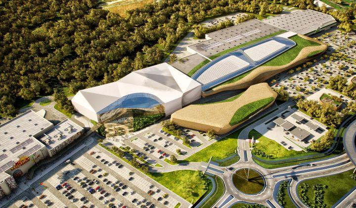 Wizualizacja nowego centrum handlowego w Góraszce