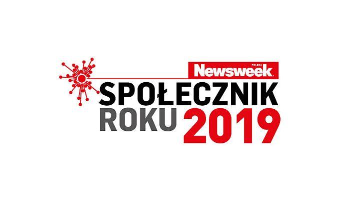 Logo konkursu Społecznik roku