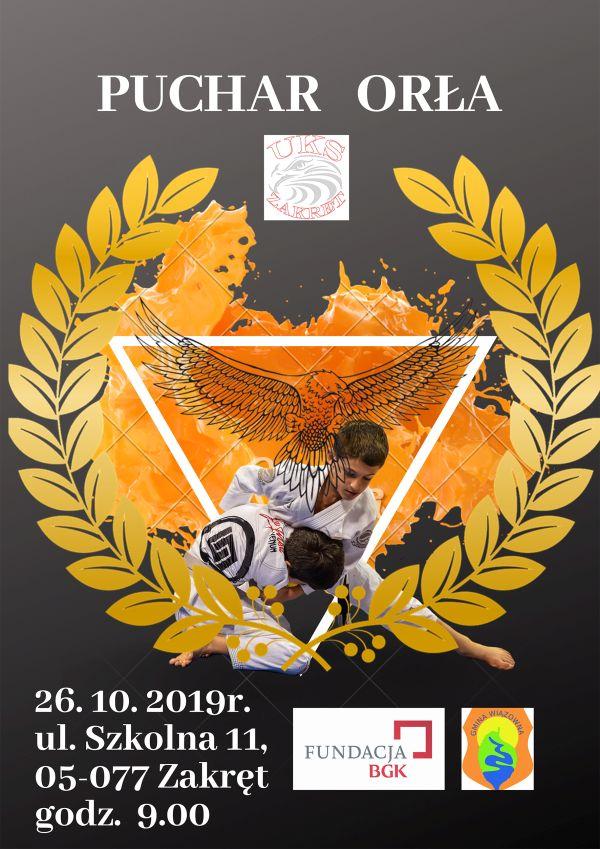 Puchar Orła - plakat zawodów