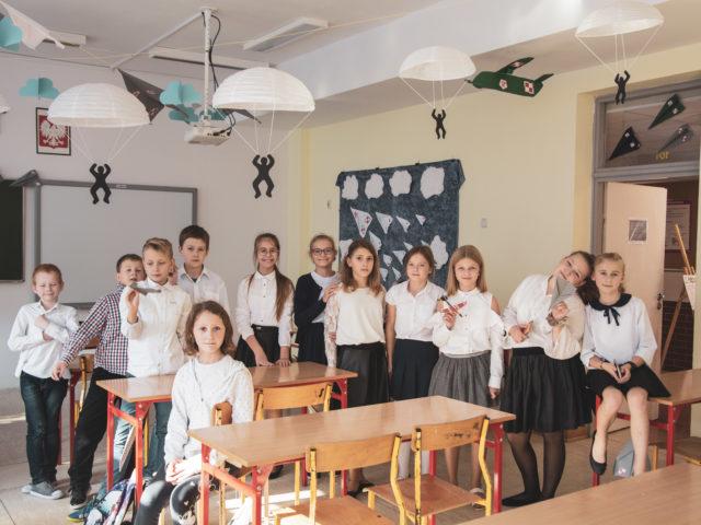60-lecie Szkoły Podstawowej w Wiązownie.