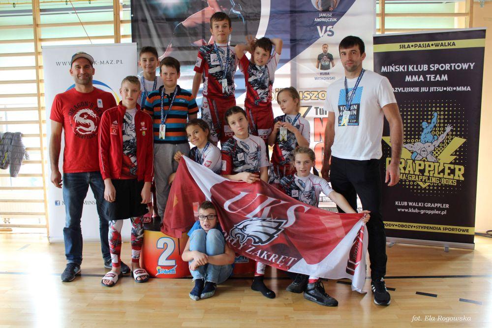Zawody grapplingowe w Mińsku Mazowieckim