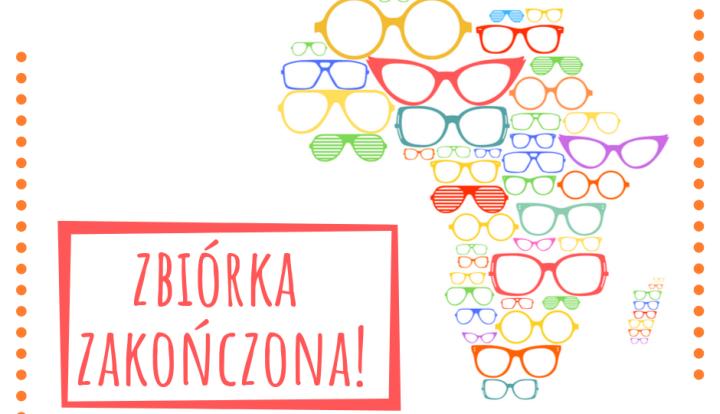 Plakat akcja Okulary dla Afryki