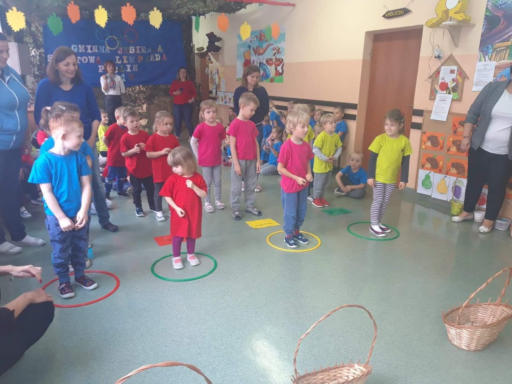 Zmagania małych sportowców w VII Gminnej Jesiennej Olimpiadzie Sportowej