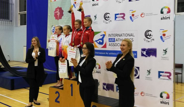 """Puchar Polski w akrobatyce powietrznej """"International Air Athletics Cup Poland"""". Zawodniczki z Zakrętu na podium"""